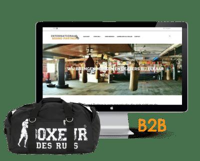 B2B webshop groothandel of webwinkel laten bouwen? Lonsdale Boxing case