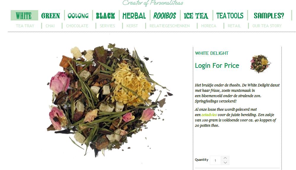 Horeca Teabar case